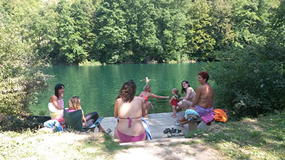 yoga retreat wild nature mreznica river